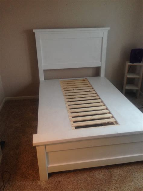 ana white farmhouse storage bed  drawers twin