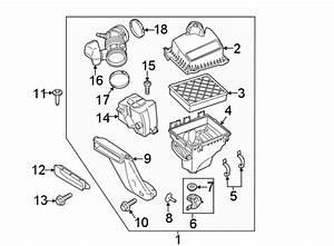 Ford Edge Engine Air Intake Hose  3 5 Liter  3 7 Liter  Assy  Inlet  Upper