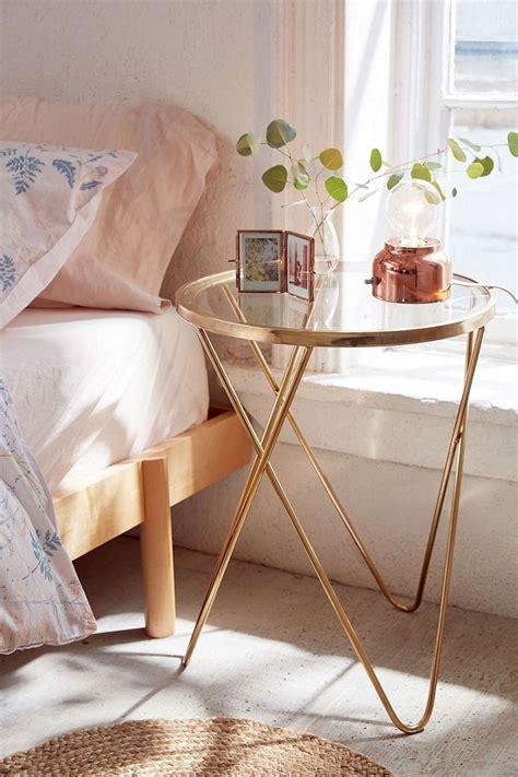 rose gold bedside table 128 best home side tables images on pinterest