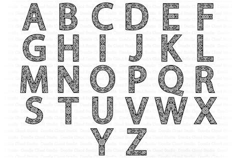 3d layered alphabet mandala bundle svg. Mandala Alphabet SVG, Mandala Letters, Alphabet Clipart ...