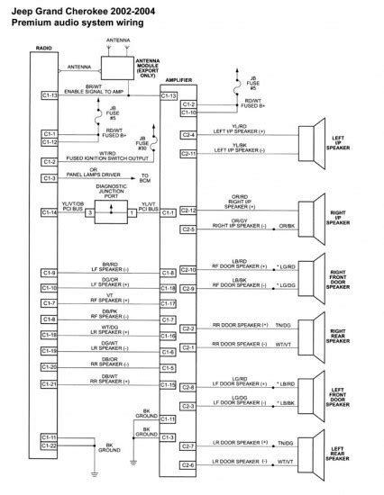 2006 jeep tj radio wiring diagram 1994 jeep stereo wiring diagram wiring diagram