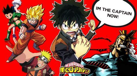 boku  hero academia anime  promising  naruto