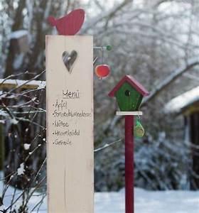 Wanddeko Für Den Garten : winterliche garten stelen ~ A.2002-acura-tl-radio.info Haus und Dekorationen