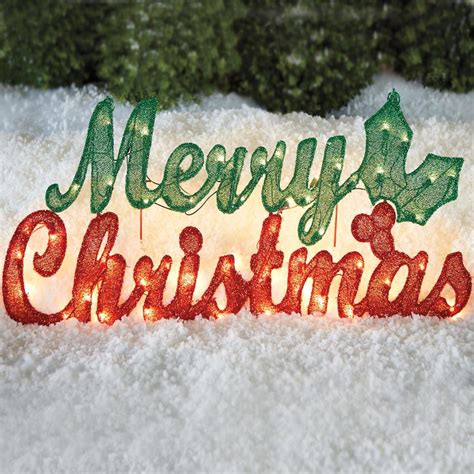large lighted outdoor merry christmas sign sold in houston tx outdoor yard displays wikii