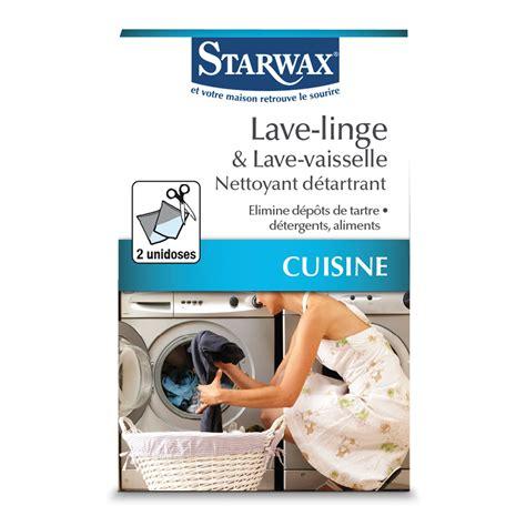 nettoyage machine a laver linge nettoyant d 233 tartrant pour lave linge et lave vaisselle starwax produits d entretien maison