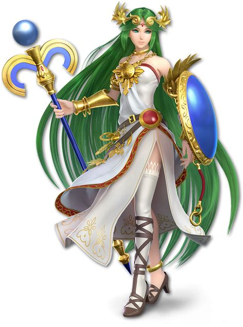 Image Ssb Ultimate Palutena Renderpng Wikitroid