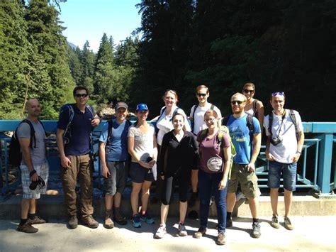 pda day hiking canyon loop july ubc postdoctoral