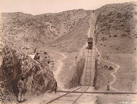 trains no 2 rope incline khojak pass baluchistan 1889