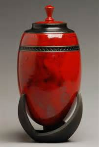 Red Cremation Urns