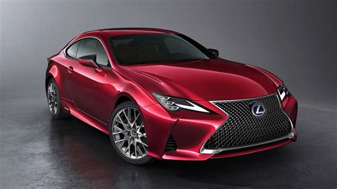 Lexus Car : Lexus Rc Facelifted For 2019, Still Looks Incohesive