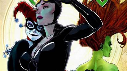 Dc Comics Wallpapers Comic Poison Ivy Catwoman
