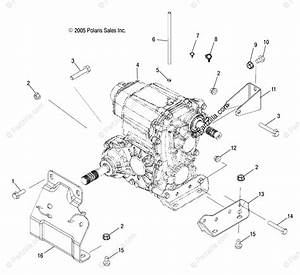 Polaris Side By Side 2006 Oem Parts Diagram For