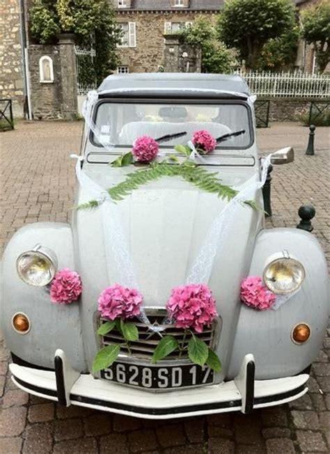 une d 233 co pour voiture de mariage 2cv cars blue and mariage