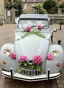 Deco Avec Piece De Voiture : une d co pour voiture de mariage 2cv pinterest cars blue and mariage ~ Medecine-chirurgie-esthetiques.com Avis de Voitures