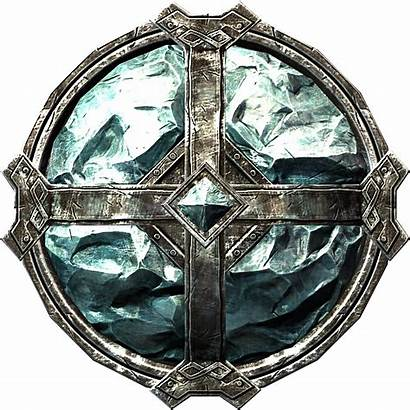 Shield Armor Stalhrim Skyrim Shields Heavy Transparent