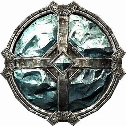 Shield Armor Stalhrim Skyrim Shields Heavy Transparent