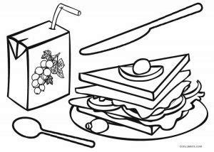 printable food coloring pages  kids