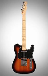 Fender Deluxe Nashville Telecaster Electric Guitar  Maple