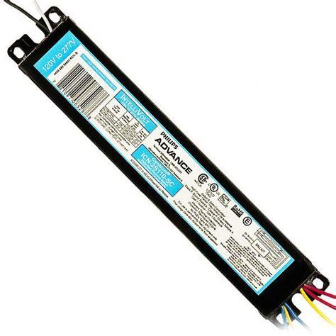 advance icn2s110sc t12 fluorescent ballast 120 277v