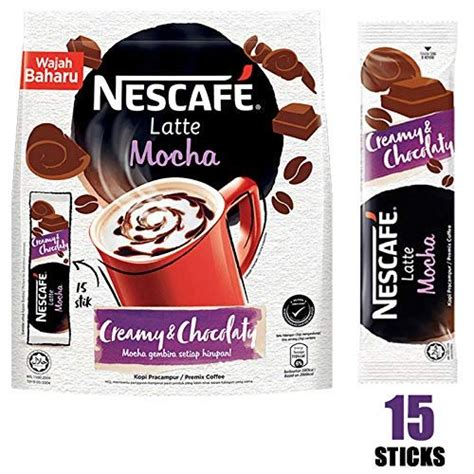 Instant coffee becomes the most consumed beverage in the worlds for decades due to its convenience. Nescafe 3 in 1 MOCHA Coffee Latte - Instant Coffee Packets - Single Serve Flavored Coffee Mix ...
