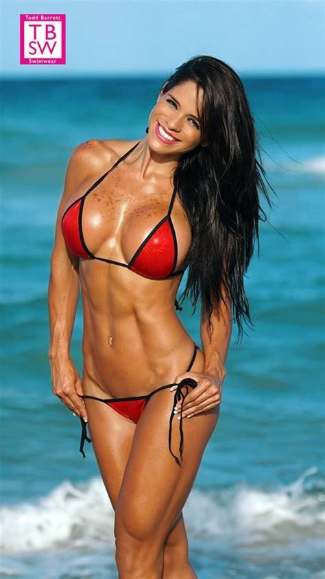 Fitness Model Michelle Lewin Age Height Cm Weight Lbs Kg See More At