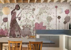 vinyltapete küche tapete für küche auswählen 20 ideen für wandgestaltung in der küche
