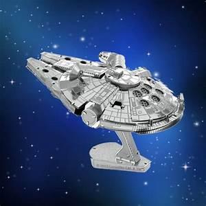 Faucon Millenium Star Wars : maquette m tal 3d star wars faucon millenium star wars cadeau maestro ~ Melissatoandfro.com Idées de Décoration