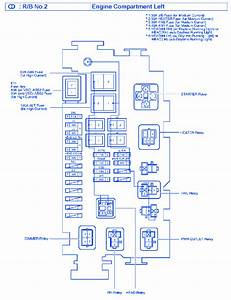Toyota Tacoma 2004 Fuse Box  Block Circuit Breaker Diagram