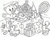 Coloring Toys Popular sketch template