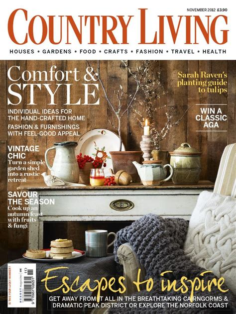 Country Magazine by 12 Best Country Living Uk 2012 Covers Images On