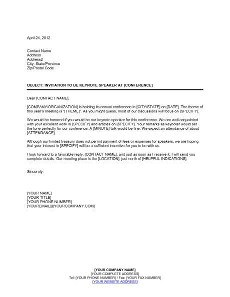 letter  inviting  guest speaker letterbestpoemviewco