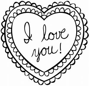 Valentines Day Preschool Coloring Pages Kids Free Printable For