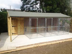 Bespoke kennels houses game rearing sheds and dog kennels for Dog sheds kennels for sale