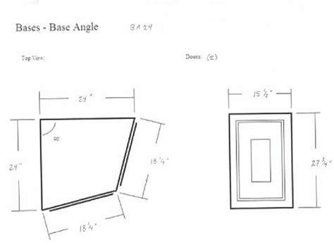 faircrest cabinets aspen white aspen white end angle base cabinet ba24