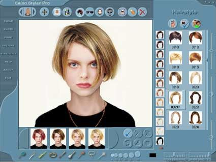 hair style software salon styler hairstyle imaging software