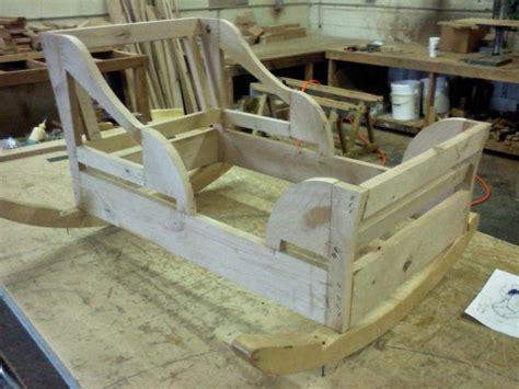 custom baby bed frame from custom furniture design in