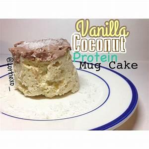 ripped recipes vanilla coconut protein mug cake