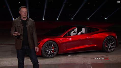Tesla Car : New Tesla Roadster 2020 Unveiled By Elon Musk