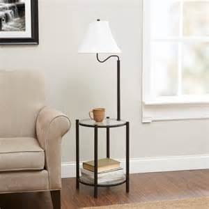 mainstays transitional glass end table l matte black