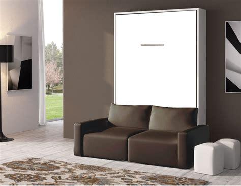armoire lit canape armoire lit escamotable avec canape canapé idées de