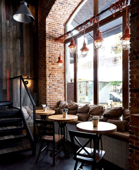 industrial cafe interior design stunning industrial cafe interiors Modern