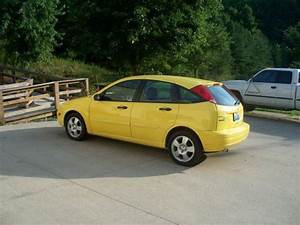 Buy Used 2005 Ford Focus Zx5 Yellow Only 60k Miles In