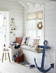 Decoration Chambre Style Marin : la d coration marine en 50 photos inspirantes ~ Zukunftsfamilie.com Idées de Décoration