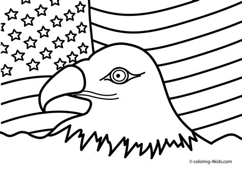 usa coloring pages    print
