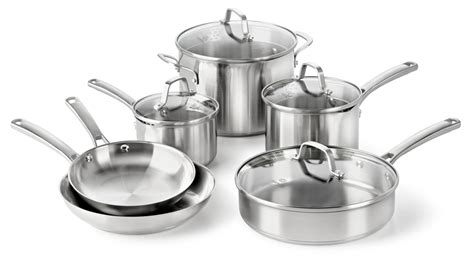 Stainless Steel Cookware Pots & Pans