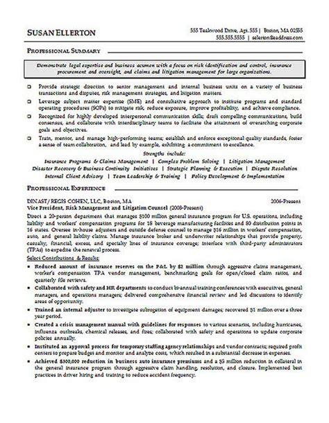 lawyer resume template civil attorney resume sle