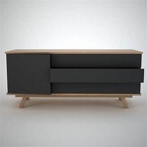 Furniture: Ottawa Sideboard Anthracite Join Furniture