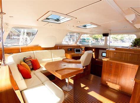 Catamaran Interior by Catamaran Interior Layout Sailing Catamaran