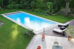 photo de piscines realisations dans le calvados With piscine liner gris anthracite 13 diaporama photos de piscines dexception avec liner
