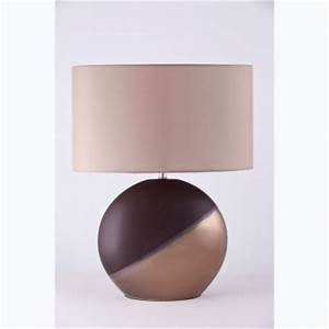 chocolate table lamps With leaf floor lamp chocolate bronze effect